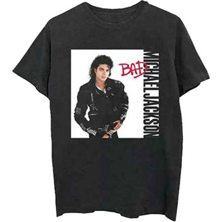Michael Jackson - Bad - Black t-shirt
