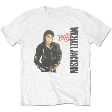 Michael Jackson - Bad - White t-shirt