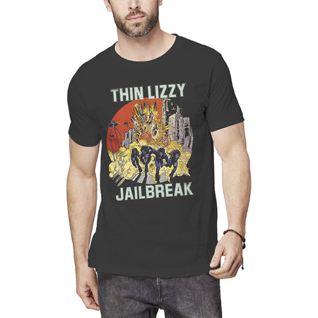 Thin Lizzy - Jailbreak - Black T-shirt