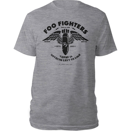 Foo Fighters - Stencil - Grey  T-shirt