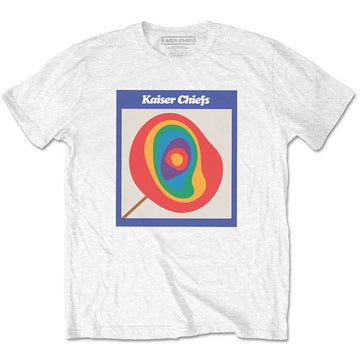 Kaiser Chiefs - Lollipop - White t-shirt