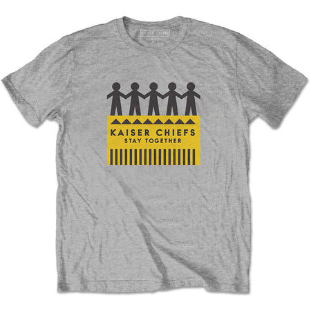Kaiser Chiefs - Paper Dolls - Grey t-shirt