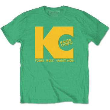 Kaiser Chiefs - Yours Truly - Irish Green t-shirt