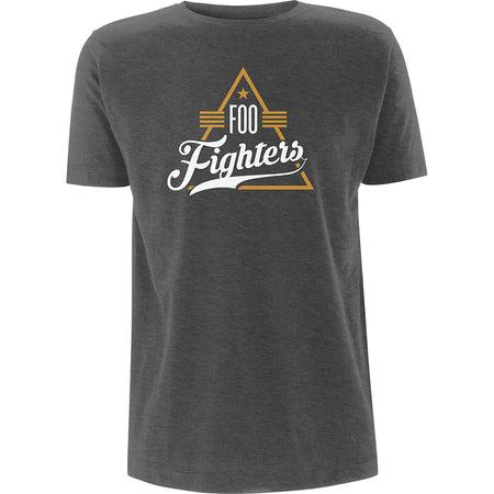 Foo Fighters - Triangle - Heather  T-shirt