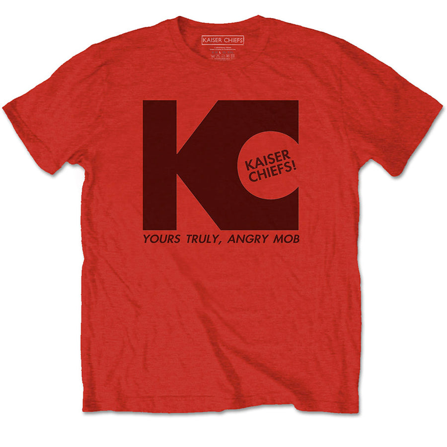 Kaiser Chiefs - Yours Truly - Red t-shirt