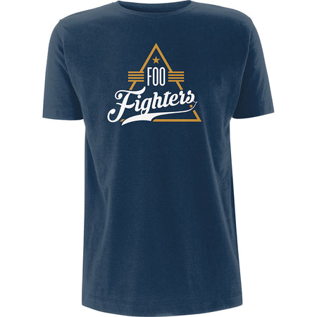 Foo Fighters - Triangle - Navy Blue  T-shirt
