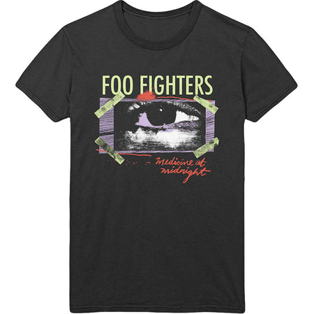 Foo Fighters - Medicine At Midnight Taped - Black T-shirt