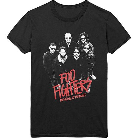 Foo Fighters - Medicine At Midnight Photo - Black T-shirt