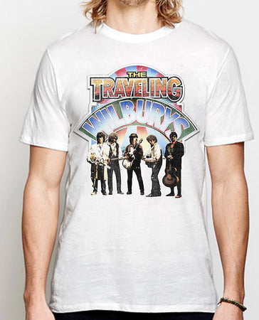 Traveling Wilburys - Band Photo - White t-shirt