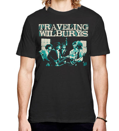 Traveling Wilburys - Performing - Black t-shirt