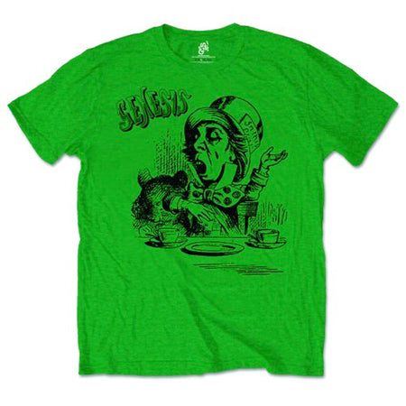 Genesis - Mad Hatter - Green t-shirt