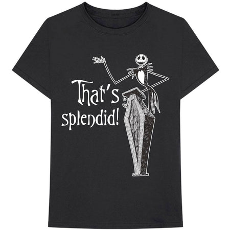 The Nightmare Before Christmas - Splendid - Black t-shirt