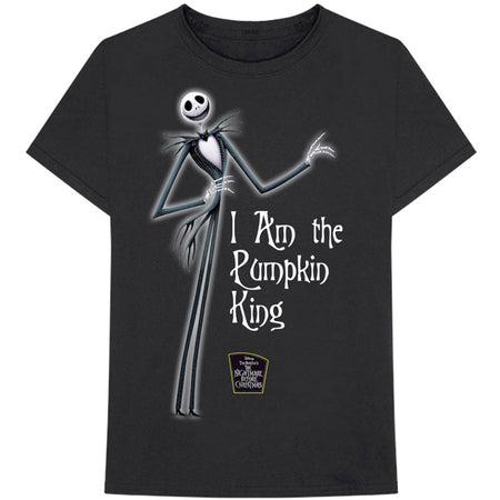 The Nightmare Before Christmas - Pumpkin King - Black t-shirt