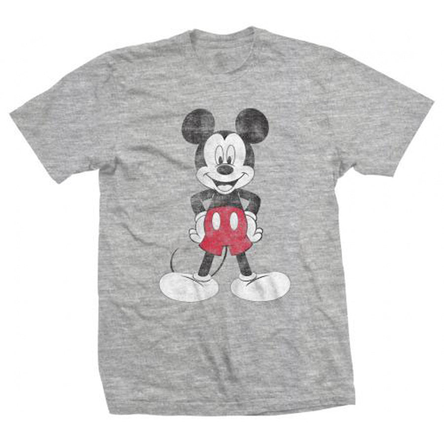 Disney - Mickey Mouse Pose - Grey t-shirt