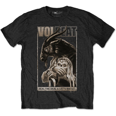 Volbeat - Boogie Goat - Black T-shirt