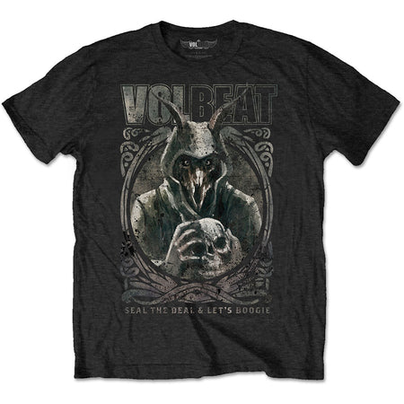 Volbeat - Goat With Skull - Black T-shirt