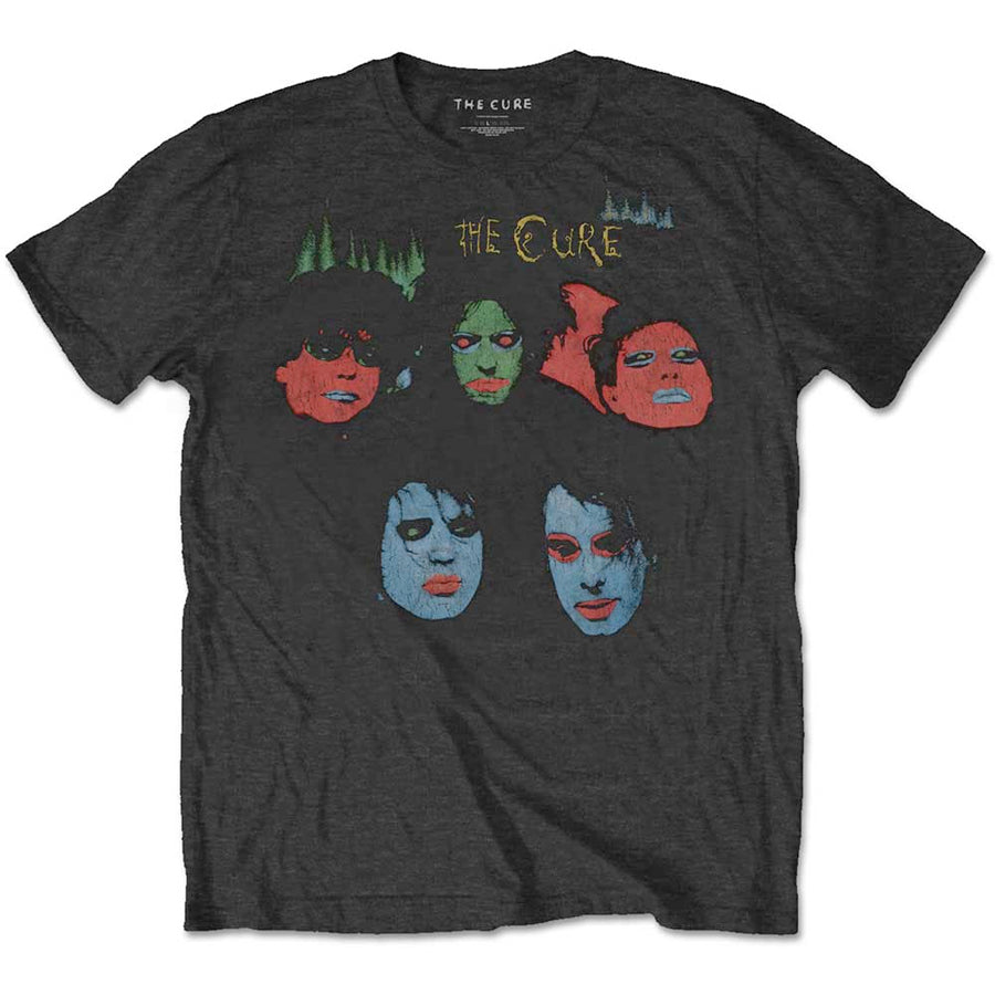 The Cure - In Between Days - Black T-shirt