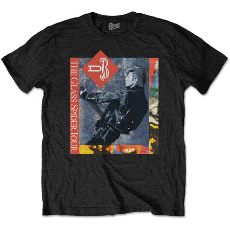 David Bowie - Glass Spider 87 Tour - Black t-shirt