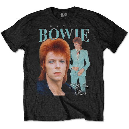 David Bowie - Life On Mars Homage - Black t-shirt