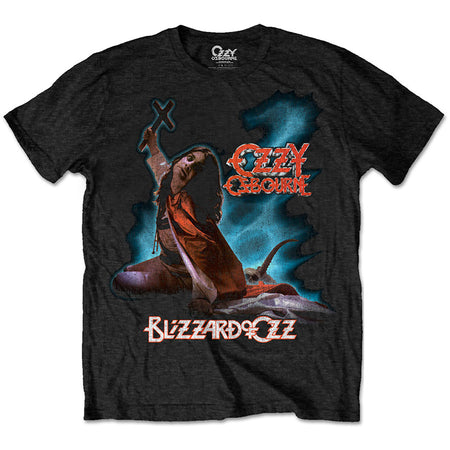 Ozzy Osbourne - Blizzard Of Ozz - Black  T-shirt