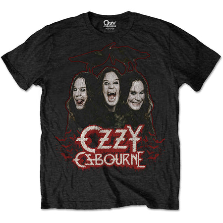 Ozzy Osbourne - Crows & Bars - Black  T-shirt