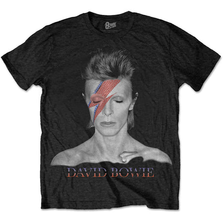 David Bowie - Aladdin Sane - Black t-shirt