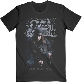 Ozzy Osbourne - Ordinary Man Standing - Black  T-shirt