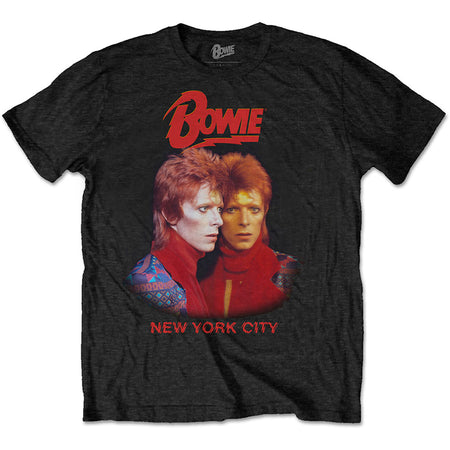 David Bowie - New York City - Black t-shirt
