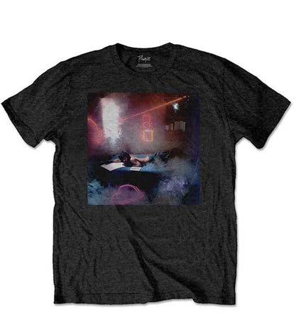 Prince - Watercolours - Black T-shirt