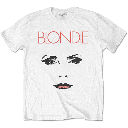 Blondie - Staredown - White t-shirt