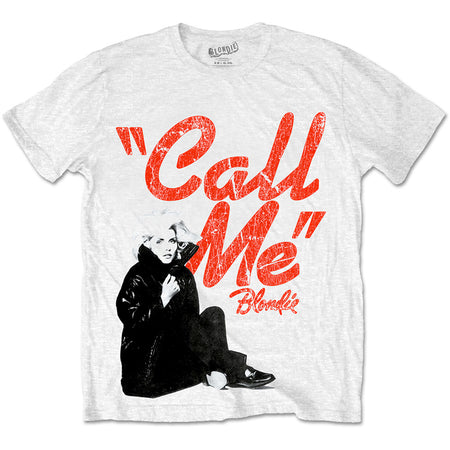 Blondie - Call Me - White t-shirt