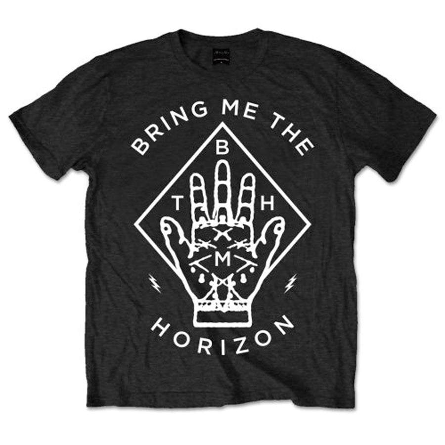 Bring Me The Horizon - Diamond Hand - Black t-shirt
