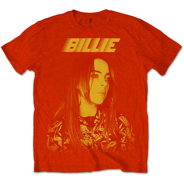 Billie Eilish - Racer Logo Jumbo - Red t-shirt