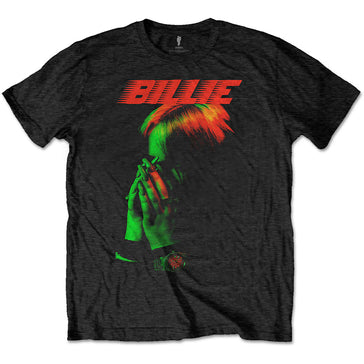 Billie Eilish - Hands Face -  Black t-shirt