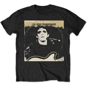 Lou Reed - Transformer Vintage Cover - Black  T-shirt