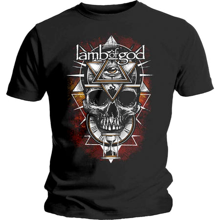 Lamb Of God - All Seeing Red - Black  T-shirt