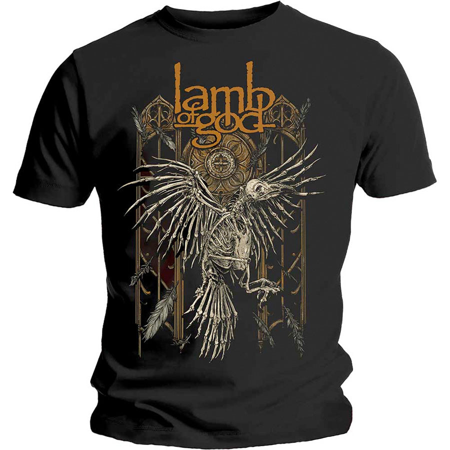 Lamb Of God - Crow - Black  T-shirt