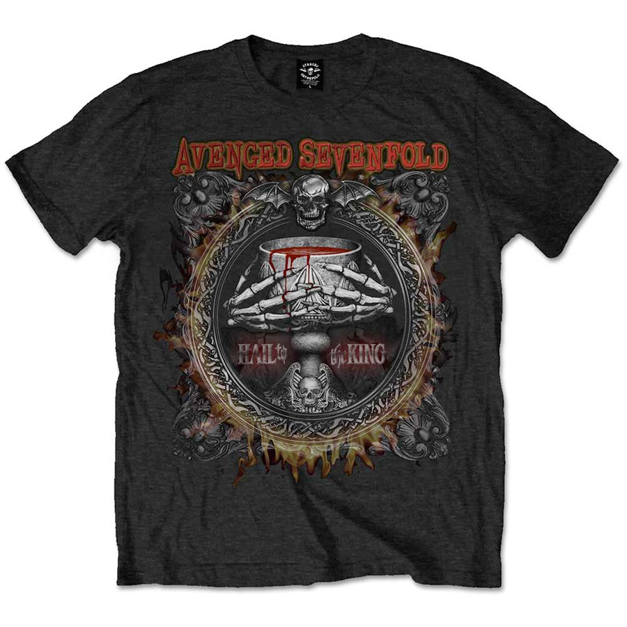 Avenged Sevenfold - Drink - Black  T-shirt