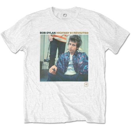 Bob Dylan - Highway 61 Revisited - White  T-shirt