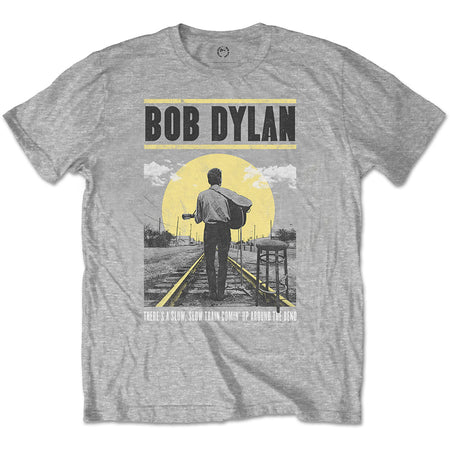 Bob Dylan - Slow Train - Grey  T-shirt