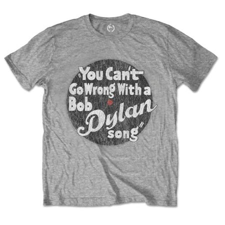 Bob Dylan - You Can't Go Wrong - Grey  T-shirt