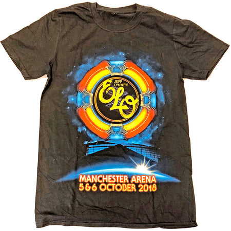 ELO-Electric Light Orchestra - Manchester Event - Black t-shirt