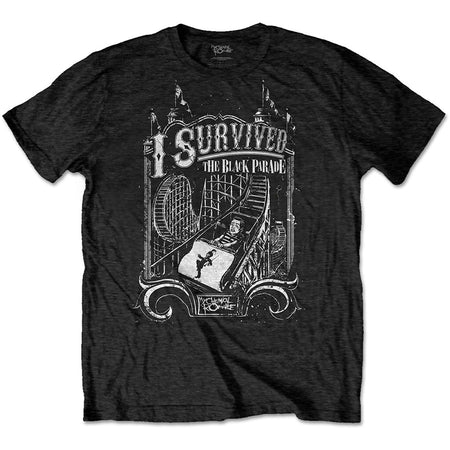 My Chemical Romance - I Survived  - Black t-shirt