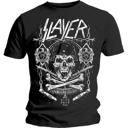 Slayer - Skull & Bones Revised - Black t-shirt