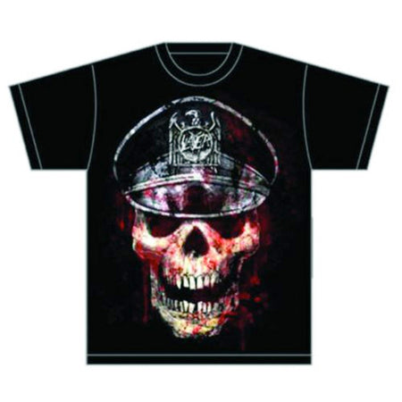 Slayer - Skull Hat - Black t-shirt