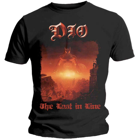 Dio - The Last In Line - Black  T-shirt