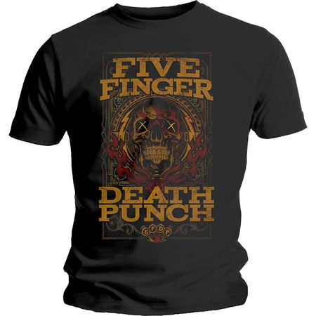 Five Finger Death Punch - Wanted - Black t-shirt