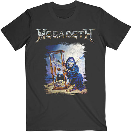 Megadeth - Countdown Hourglass  - Black t-shirt