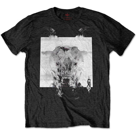 Slipknot - Devil Single-Black & White - Black t-shirt