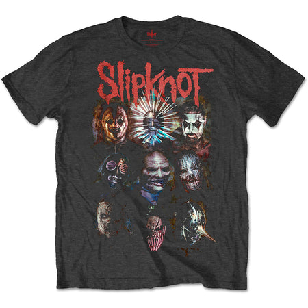 Slipknot - Prepare For Hell-2014-2015 Tour - Black t-shirt